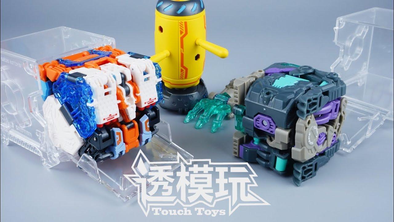 【SwiftTransform】Machine Cube! BEASTBOX! 52TOYS KANGAROO&WOLF RICOCHET FIRMHANO 猛兽匣速变 透模玩 速变