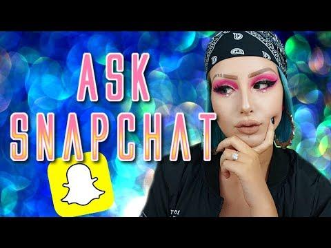 FOIRE AUX QUESTIONS | Ask Snapchat 👻 (Âge? Etudes? Youtube?)
