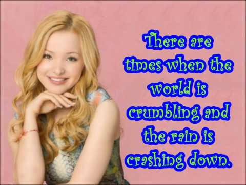 Count me in by Dove Cameron lyric video