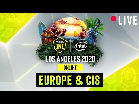 LIVE: Virtus.Pro Vs Gambit - ESL One Los Angeles - Group B- EU/CIS