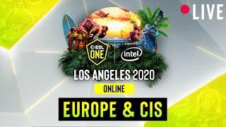 LIVE: Nigma vs Cyber Legacy - ESL One Los Angeles - Group Stage - EU/CIS