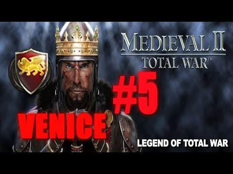 [#5] VENICE CAMPAIGN - Medieval 2 Total War Gameplay