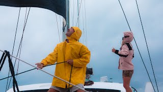 Dodging STORMS with Greta Thunberg // 60 knot winds & 7m waves on the Horizon!! Ep.2