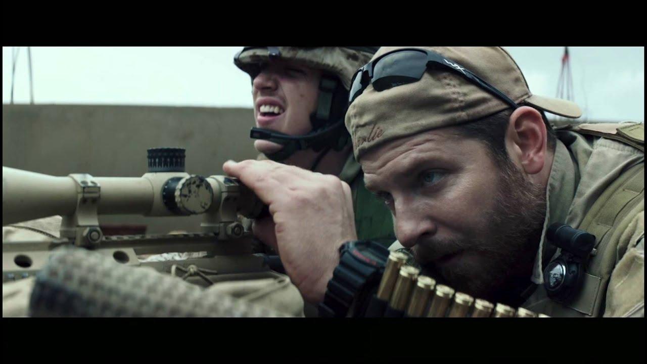 """Трейлър на филма """"Американски снайперист"""" с БГ субтитри"""