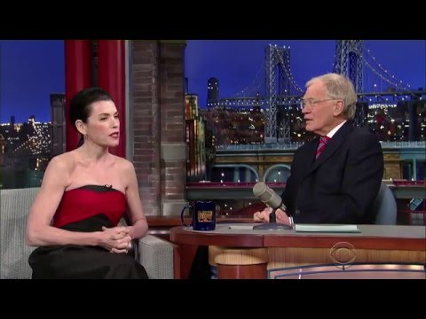 Julianna Margulies on the Late  with David Letterman 25.2.2015