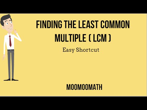 How to find the least common multiple-Easy Shortcut