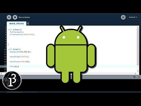 crÉer-des-applications-android-avec-processing-[tuto]