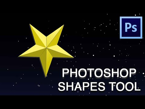 Photoshop Shapes Tool Explained In Detail