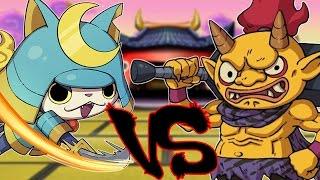 Yo Kai Watch   Legendary Battle   JohneAwesome VS Munchingorange