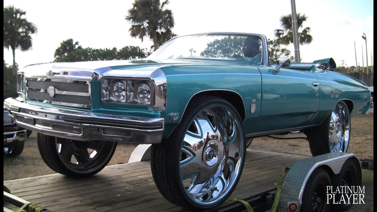 1975 CHEVY CAPRICE on 32 INCH RIMS- CENTRAL FLORIDA SERIES - YouTube