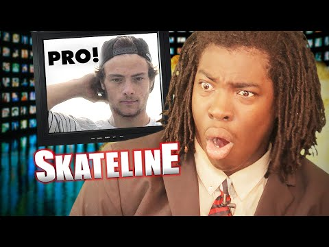 SKATELINE – Chris Joslin Is Pro! Grant Taylor Beer Bonk, Carlos Ribeiro, Escalator Slam & more