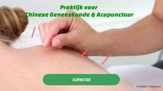 chinese geneeskunde acupunctuur - roerdalen