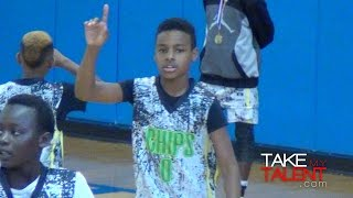 Lebron james jr. has crazy vision! wins back-to-back ronald searles holiday classic championships!