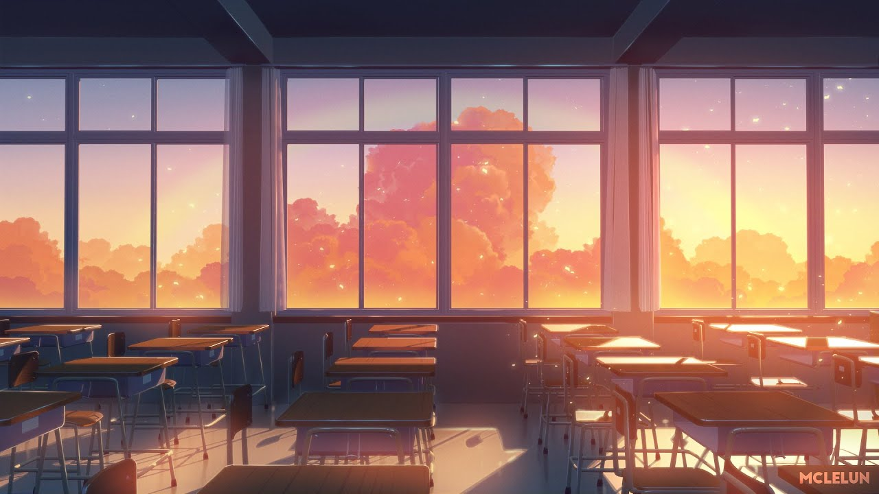 Anime Classroom Painting - Photoshop + Blender3D - YouTube