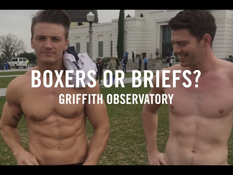 Griffith Observatory | Boxers or Briefs | Shirtless Guys at Griffith Park with DanielXMiller