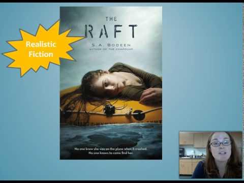 The Raft by  S.A. Bodeen