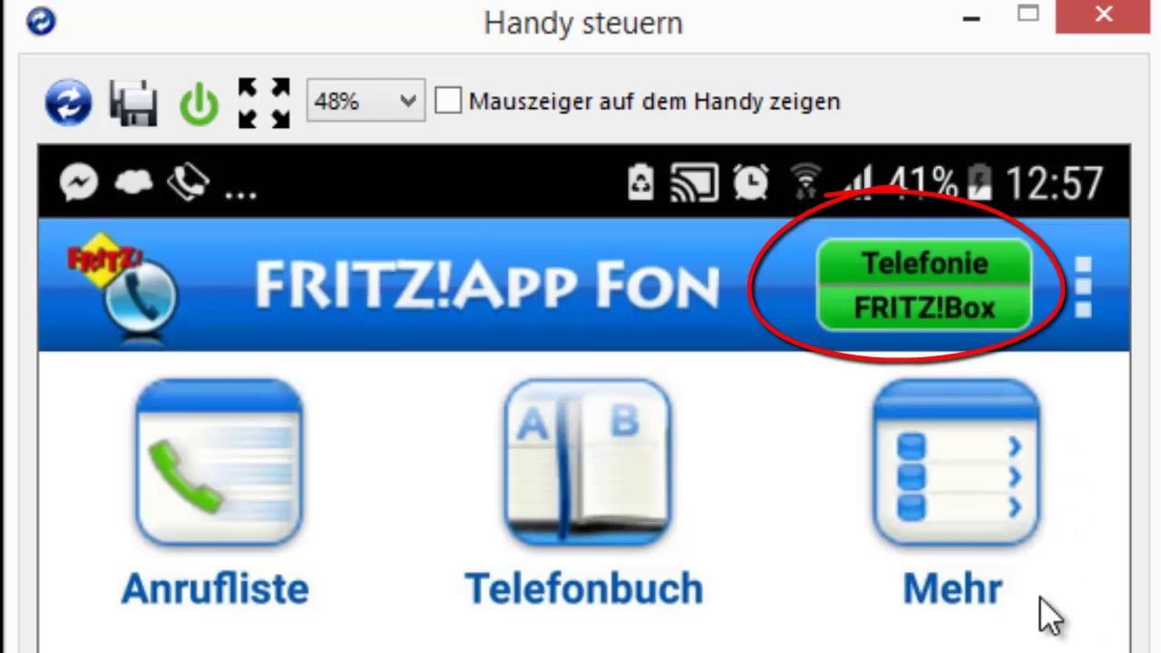 Mit Dem Smartphone Uber Die Fritzbox Telefonieren Youtube