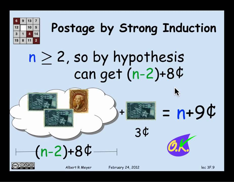 1.8.4 Strong Induction: Video - YouTube