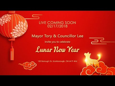 LIVE: Mayor John Tory and Councillor Chin Lee celebrate Lunar New Year