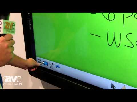 InfoComm 2014: Westinghouse Digital Showcases 4K Interactive Whiteboards with 6-point Touch