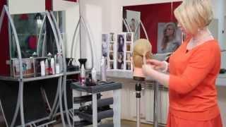 Как сделать объёмную причёску. Объёмная причёска с помощью валика