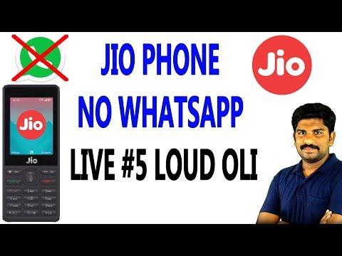 jio Phone NO Whatsapp / Live #5 Loud Oli - Tamil Tech Live