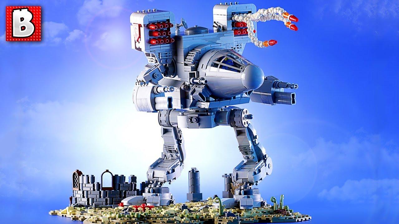 LEGO Timber Wolf Mech Warrior Custom Build TOP 10 MOCs