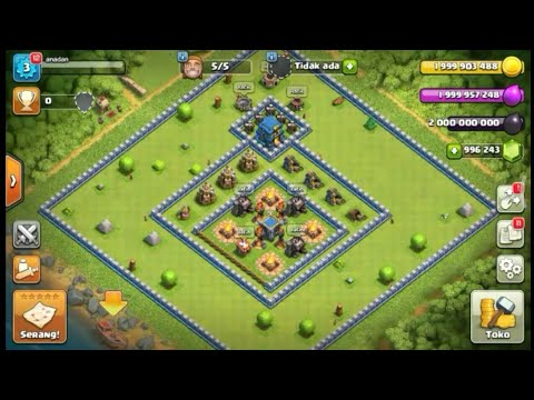CLASH OF Clans MOD APK(UNLIMITED GEMS)TOWN HALL 12
