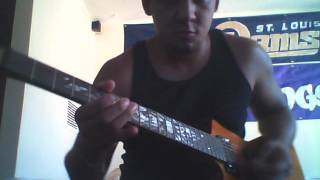 No Remorse - Metallica on guitar (Upside Down Left Handed) Z4R4GOZA
