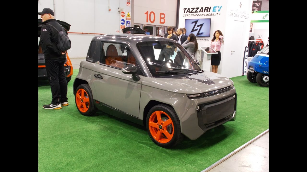 Tazzari Electric Micro Car Youtube