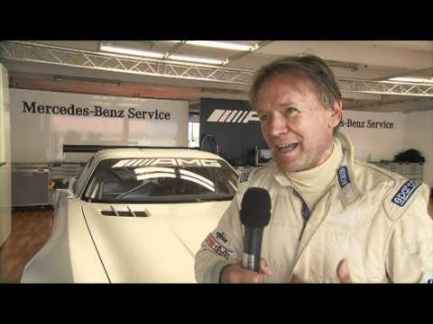 Mercedes Benz SLS AMG GT3 - Hockenheim - Interview with Marc Surer