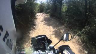 OffRoad: BMW R 1200 GS Adventure vs BMW F 800 GS vs Yamaha TX660Z Ténéré