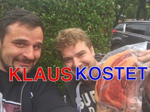 SPECIAL Klaus kostet   Kobe Steaks Burger Wurst und mehr     Klaus grillt