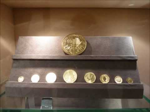 Pictures of Gold, Platinum and Silver Bullion from Dealer in Japan