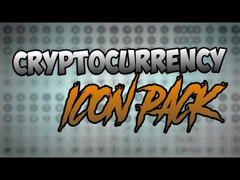 Cryptocurrency Icon Pack Template | FREE PSD AND AI DOWNLOAD
