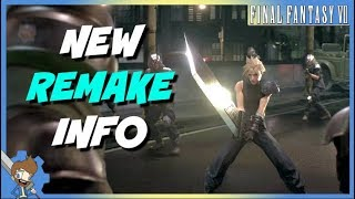 NEW INFO! Final Fantasy VII Remake Level Designer Discusses Rebuilding World For Action Combat