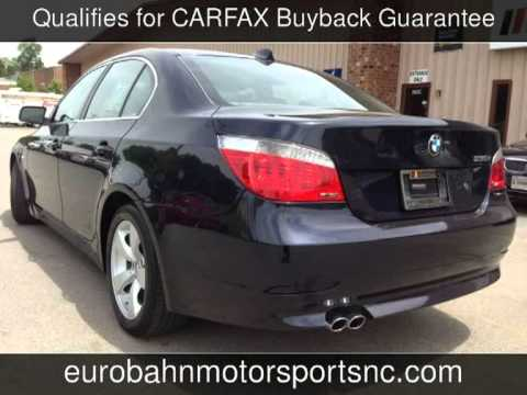 2006 bmw 530i used cars for sale greensboro nc 27409 youtube. Black Bedroom Furniture Sets. Home Design Ideas