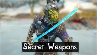 Skyrim: 5 Secret and Unique Weapons You May Have Missed in The Elder Scrolls 5: Skyrim (Part 4)