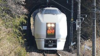 【さよならJR115系 おまけ映像】JR吾妻線で特急「草津」を撮影していたら、何故か特急「あかぎ」が来ました。