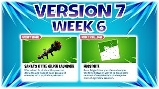 Weekly Reset ~ NEW LAUNCHER SANTAS LITTLE HELPER 1st LOOK - V7.10 #3 ~ FORTNITE Save The World | PvE