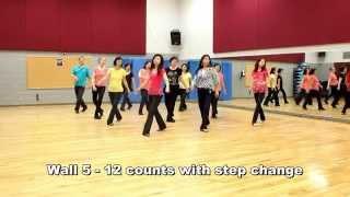 No Sunshine - Line Dance (Dance & Teach in English & 中文)