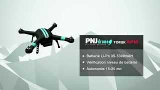 PNJ Drone: Caractéristiques Toruk AP10