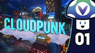 [Vinesauce] Vinny - Cloudpunk (PART 1)