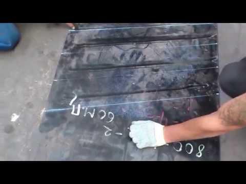 Разметка и нарезка конвейерной ленты для дальнейшей стыковки