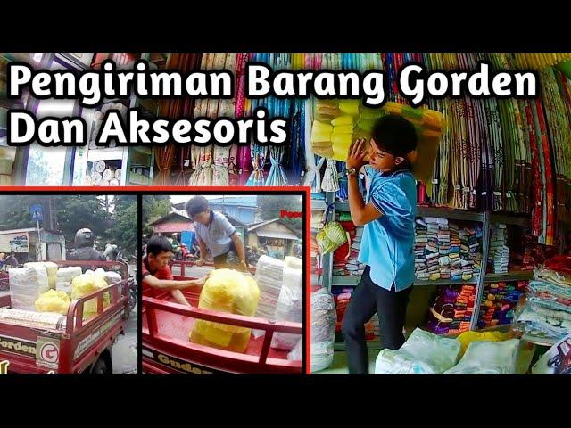Pengiriman Barang Gordyn Dan Aksesoris Ke Toko Gorden 085287651175 #gudanggorden
