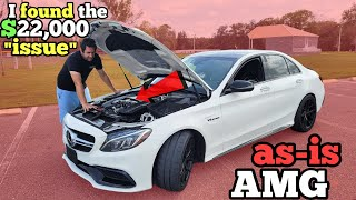 "I Bought an ""AS-IS"" $90,000 Mercedes AMG at Auction and got 50% OFF (Twin Turbo C63s)"