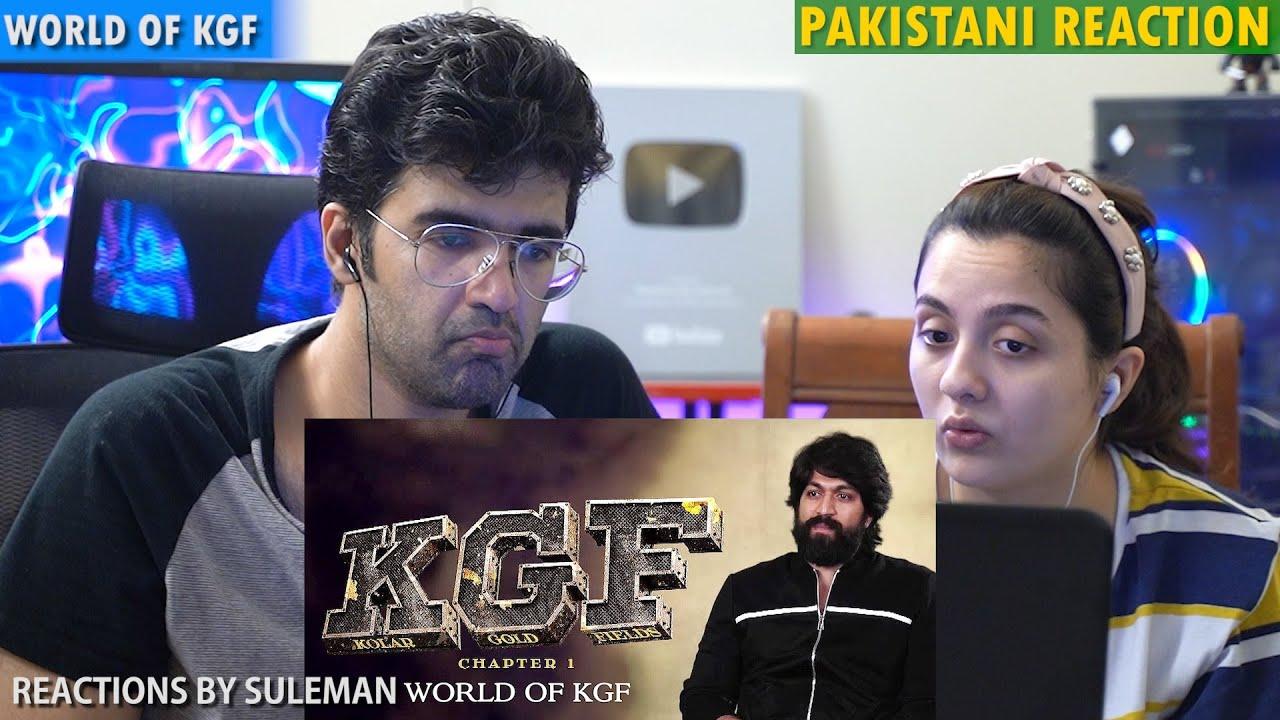 Pakistani Couple Reacts To World Of KGF | BTS | Yash | Srinidhi Shetty