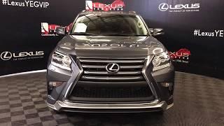 Gray 2017 Lexus GX 460 Standard Package Review Edmonton AB - Lexus of Edmonton
