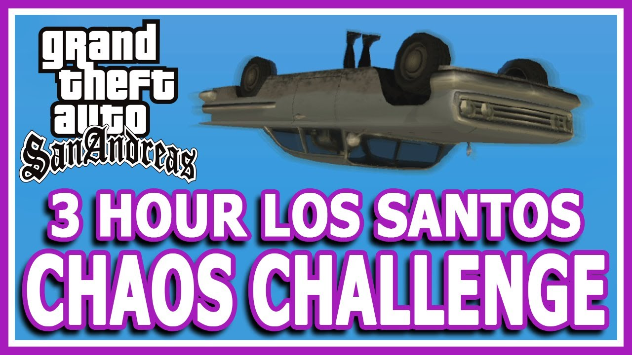 GTA San Andreas Viewer Controlled Chaos Challenge