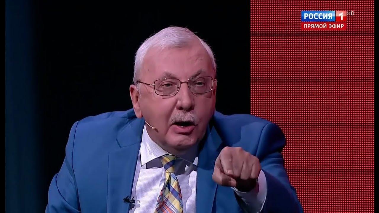 """Виталий Третьяков: """"Вы лично живы благодаря Сталину!"""" (""""Вечер с Соловьёвым"""")"""